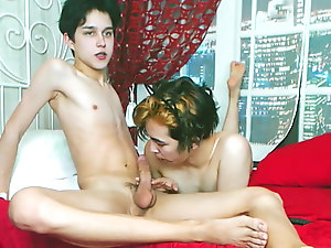 Wonderful Twink Blowjobs