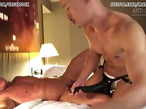Daddy loves Asian cock