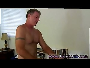 Twink gay sexy underwear cut off Daddy Brett obliges of course, after