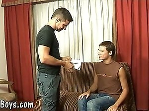 hot young boy gets coursebooks and big hard meat video
