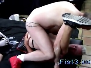Amateur straight ass and black thugs movie gay Fists and More Fists for