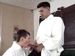 Aaner - fucking the altar boy bareback