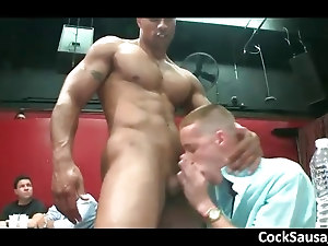 Amazing stripper gets cock sucked part1