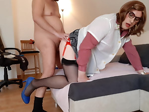 Cleaning Lady IlonaTV fucked after cleaning