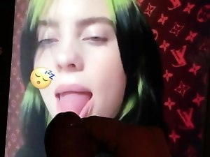 Billie Eilish Cum Tribute