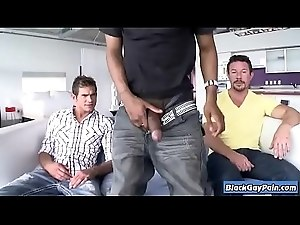 Its Gonna Hurt - Interracial Bareback Big Cock Gay Fucking - BlackGayPain.com 18