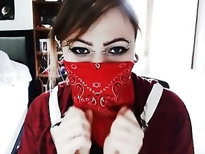 The Masked Becky Seduces You With Her Eyes (no volume)