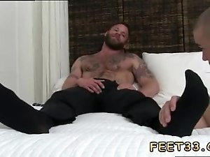 Sucking gay boys feet movie moving and guys dick toes Derek Parker's